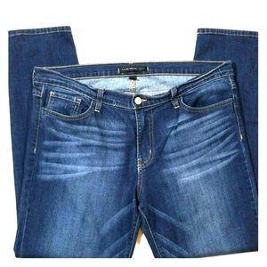 Women's Flying Monkey Dark Washed Skinny Jeans